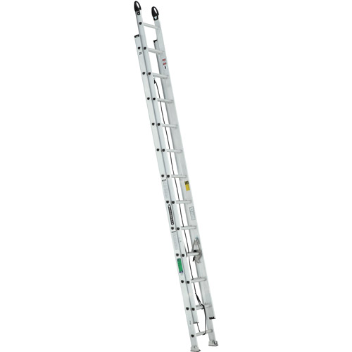 Louisville Ladder 24 ft. Aluminum Extension Ladder with Pro Grip Type II, 225 Lbs Load... by Louisville Ladder