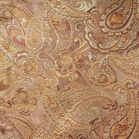 SHASON TEXTILE COSPLAY PAISLEY BROCADE FABRIC, GOLD. ()