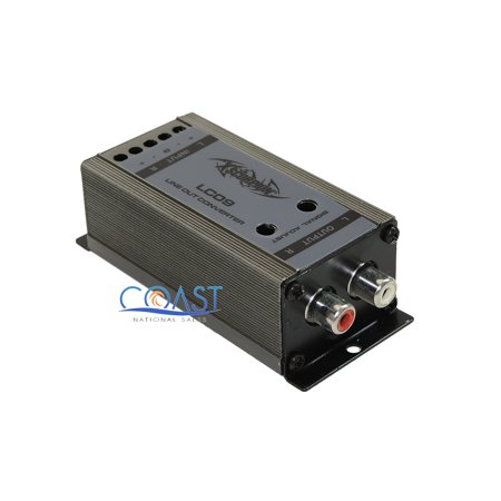 Car Metal Chassis High to Low Adjustable Line Output Converter w/ Gain Control