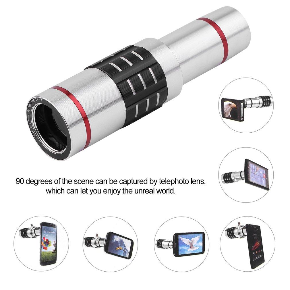 18x Optical Zoom Telescope Camera Lens Ki Monocular Telescope With Mini Tr
