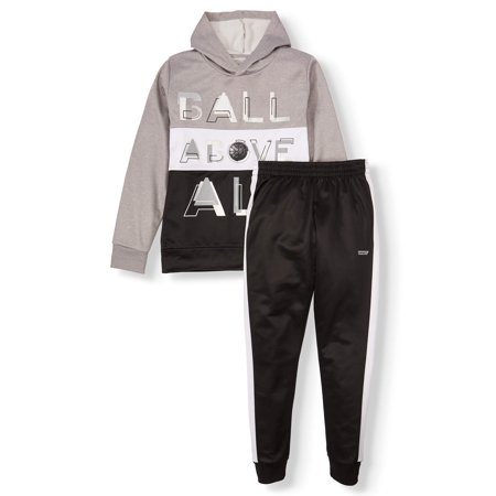 Hind Graphic Colorblock Pullover Hoodie with Pull On Pants, 2-Piece Outfit Set (Big Boys) Boys Jogging Set