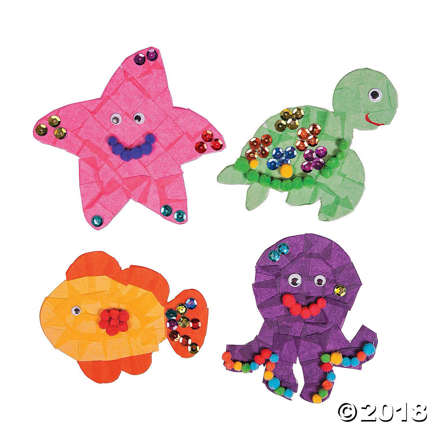 Under the Sea Sticky Board Kit(pack of 2)