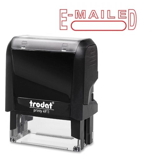 Trodat E-Mailed S-Printy Self-Inking Stamp - image 1 de 1