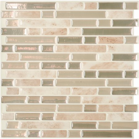 Smart Tiles Original Peel Amp Stick Backsplash Wall Tile