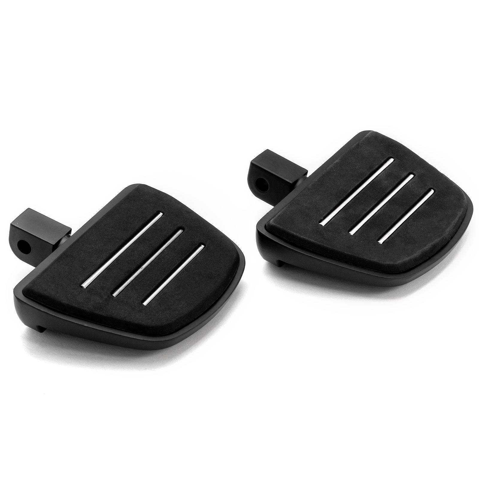 Krator Black Motorcycle Foot Pegs Footrests Left /& Right For Suzuki SV650 2017 Rear