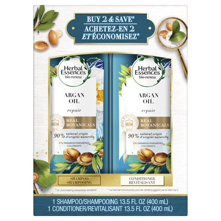 Herbal Essences Argan Oil of Morocco Shampoo + Conditioner Dual Pack - 27 fl oz