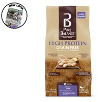 Pure Balance High Protein Grain Free Formula Food for Cats, Chicken Recipe, 3 lb