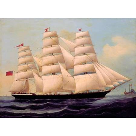 Ship Cilurnum in Chinese Waters Poster Print by  Chinese 1866 Anonymous