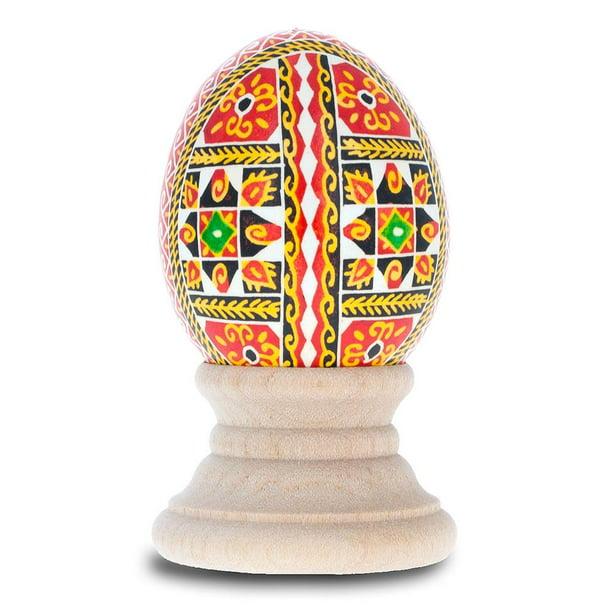 Chicken Size Blown Real Ukrainian Easter Egg Pysanky