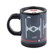 Star Wars Tie Fighter Self-Stirring Travel Mug - Mix Your Drink with the Force -12 oz