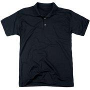Xo Manowar Pit (Back Print) Mens Polo Shirt