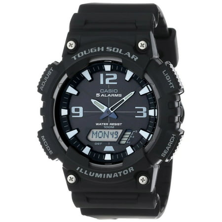 Solar Wave Watch (Men's Solar Sport Combination Watch, Black)