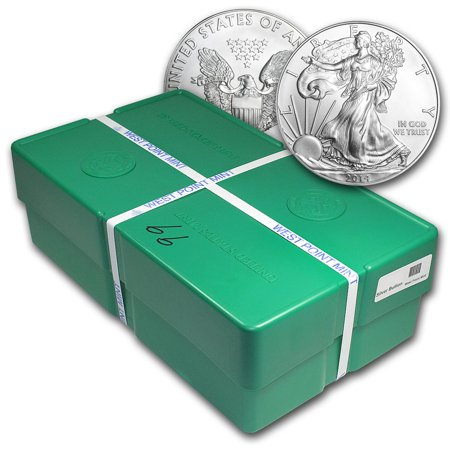2014 500-Coin Silver Eagle Monster Box (WP Mint,