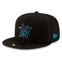 new arrival 6b458 b5f64 Product Image Miami Marlins New Era Youth 2019 Authentic Collection  On-Field 59FIFTY Fitted Hat - Black