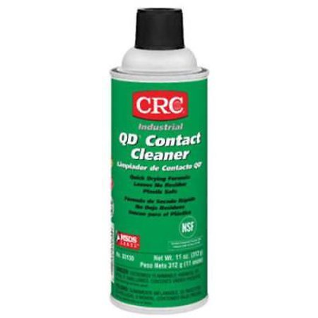 11 OZ QD Industrial Contact Cleaner Only One 11 OZ; QD Industrial Contact Cleaner; Petroleum Distillate/Alcohol Based; For Applications Where Lower Flashpoint Solvents May Be Used; and Sensitive Plastics Are Present; Effectively Removes Soils and Other Contaminants From Electrical and Electronic Components; Designed To Replace CFC Based Products. 11 OZ QD Industrial Contact Cleaner