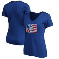 Colorado Rockies Fanatics Branded Women's Banner State V-Neck T-Shirt - Royal