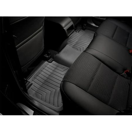 WeatherTech 09+ Ford F150 Super Cab Rear FloorLiner - Black
