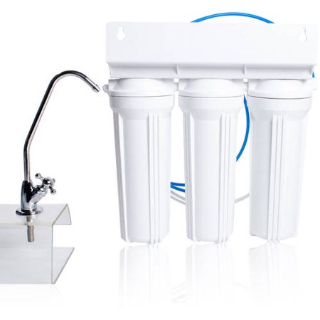 APEX MR-2033 Undercounter 3-Stage Drinking Water Filter - Fluoride Removal