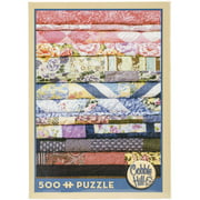 "Jigsaw Puzzle, 500 Pieces, 10"" x 14"", Quilts"
