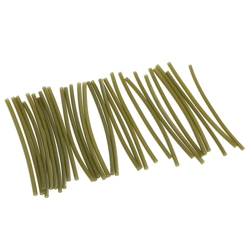 sharprepublic 30 St/ück Anti Sleeves 53mm Rubber Line Aligner Sleeves Karpfen Angelger/äte