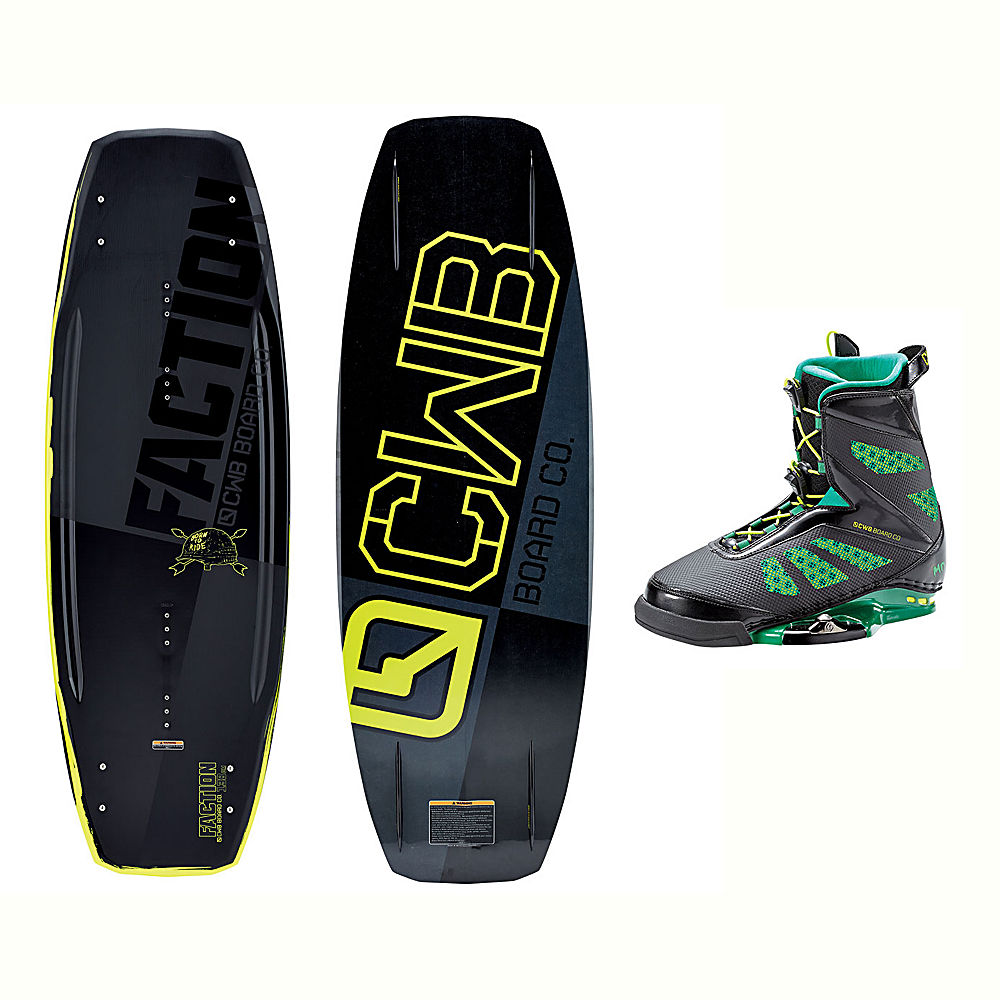 CWB Faction Wakeboard With MD Bindings 2017 by CWB