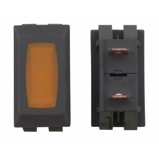 ZU0714C Illuminated Indicator Light - Amber And Brown - image 1 of 1