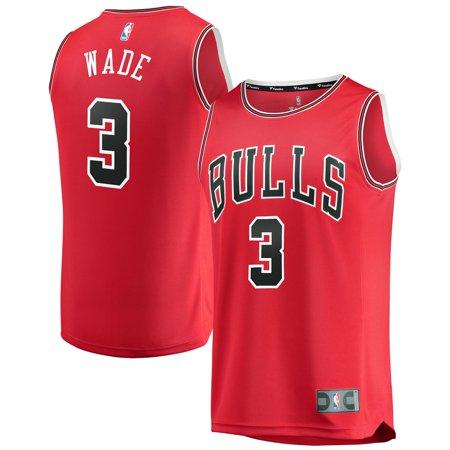 size 40 cf375 7b8cd Dwyane Wade Chicago Bulls Fanatics Branded Youth Fast Break Replica Jersey  Red - Icon Edition