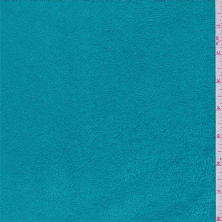 Turquoise Blue Polartec Thermal Pro Fleece, Fabric By the - Polartec Polar Fleece