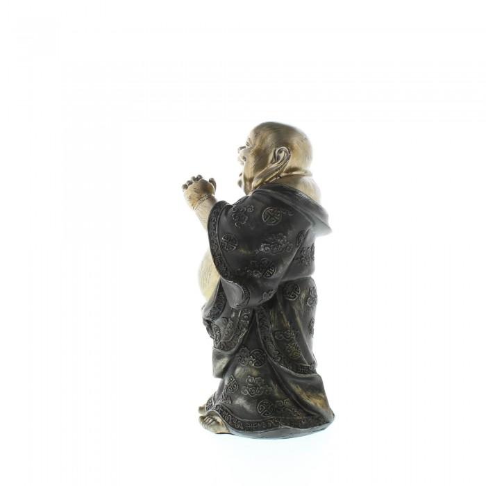 STANDING HAPPY BUDDHA FIGURINE - image 5 of 6