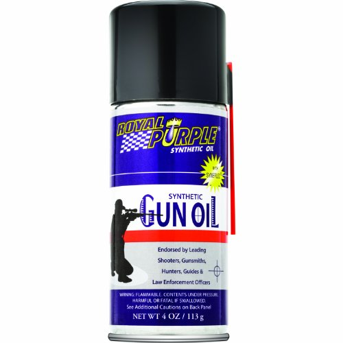 Royal Purple 10036 Synthetic Gun Oil High Performance Multipurpose Gun Lubricant - 4 oz.