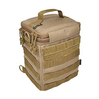 Hazard 4 forward Observer SLR Padded Camera Bag with Molle, Coyote by Hazard 4