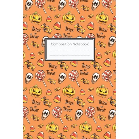 Witch Crafts For Halloween (Composition Notebook: 6