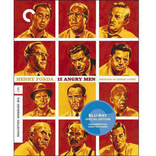 12 Angry Men (Criterion Collection) (Blu-ray) (Widescreen)