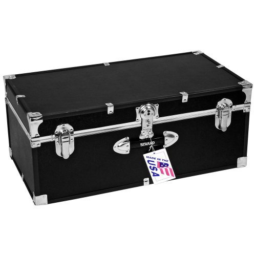 Locking Stackable Trunk-Black