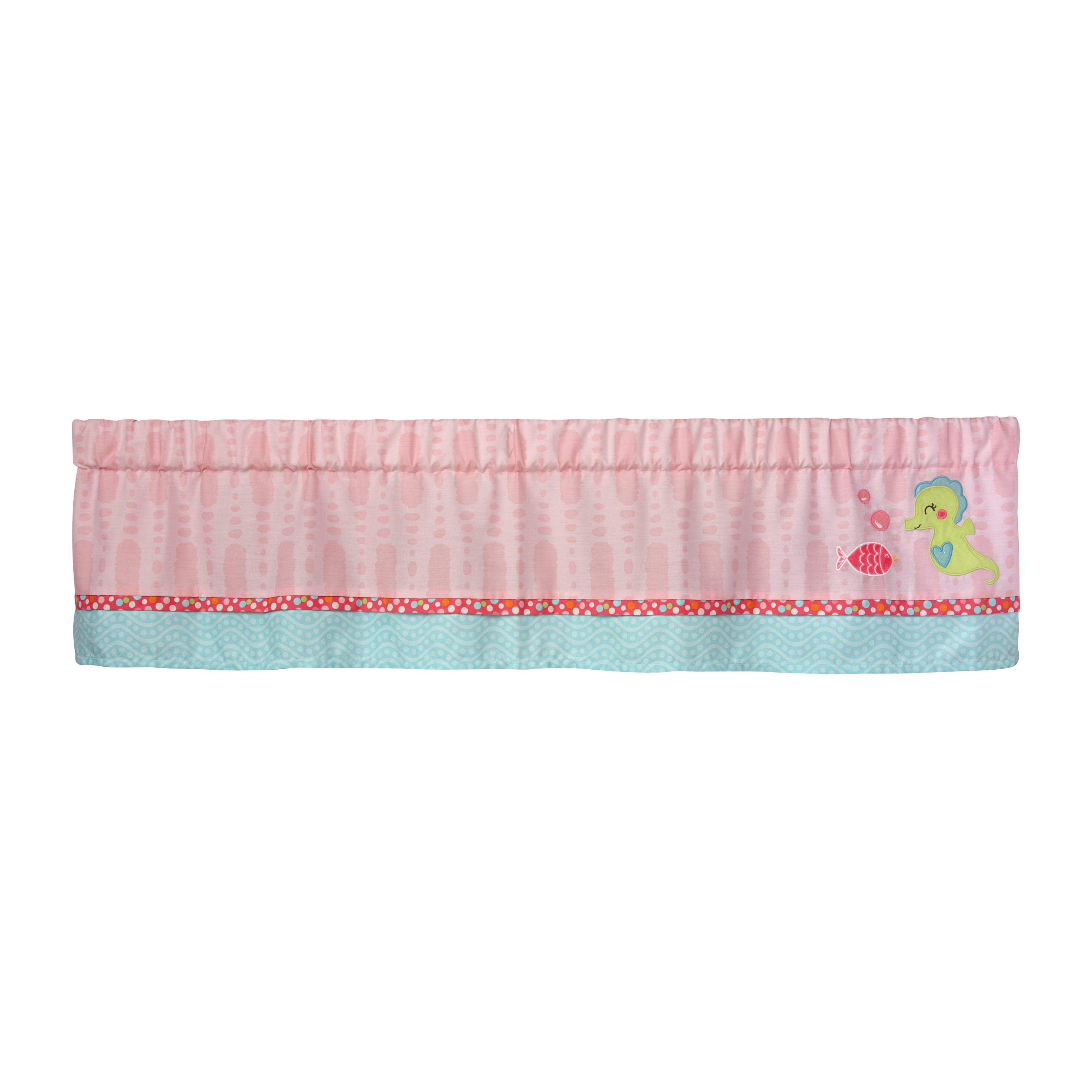 Carter's Sea Window Valance by Crown Crafts Infant Products, Inc.