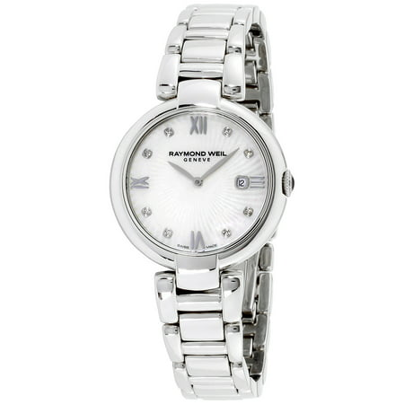 Weil Sweet - Raymond Weil Mother of Pearl Dial Stainless Steel Ladies Watch 1600-ST-00995