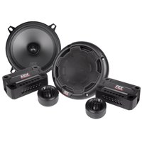 "Pair MTX THUNDER51 5.25"" 360w Car Audio Component Speakers/Multi-Mount Tweeters"