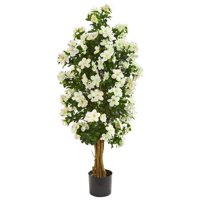 Nearly Natural 9111 57 in. Azalea Artificial Tree