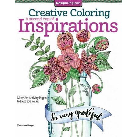 Design Originals Creative Coloring Inspirations 2 Walmart Com