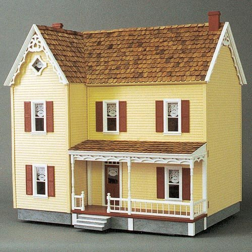 Real Good Toys Front-Opening Green Acres Dollhouse Kit - 1 Inch Scale