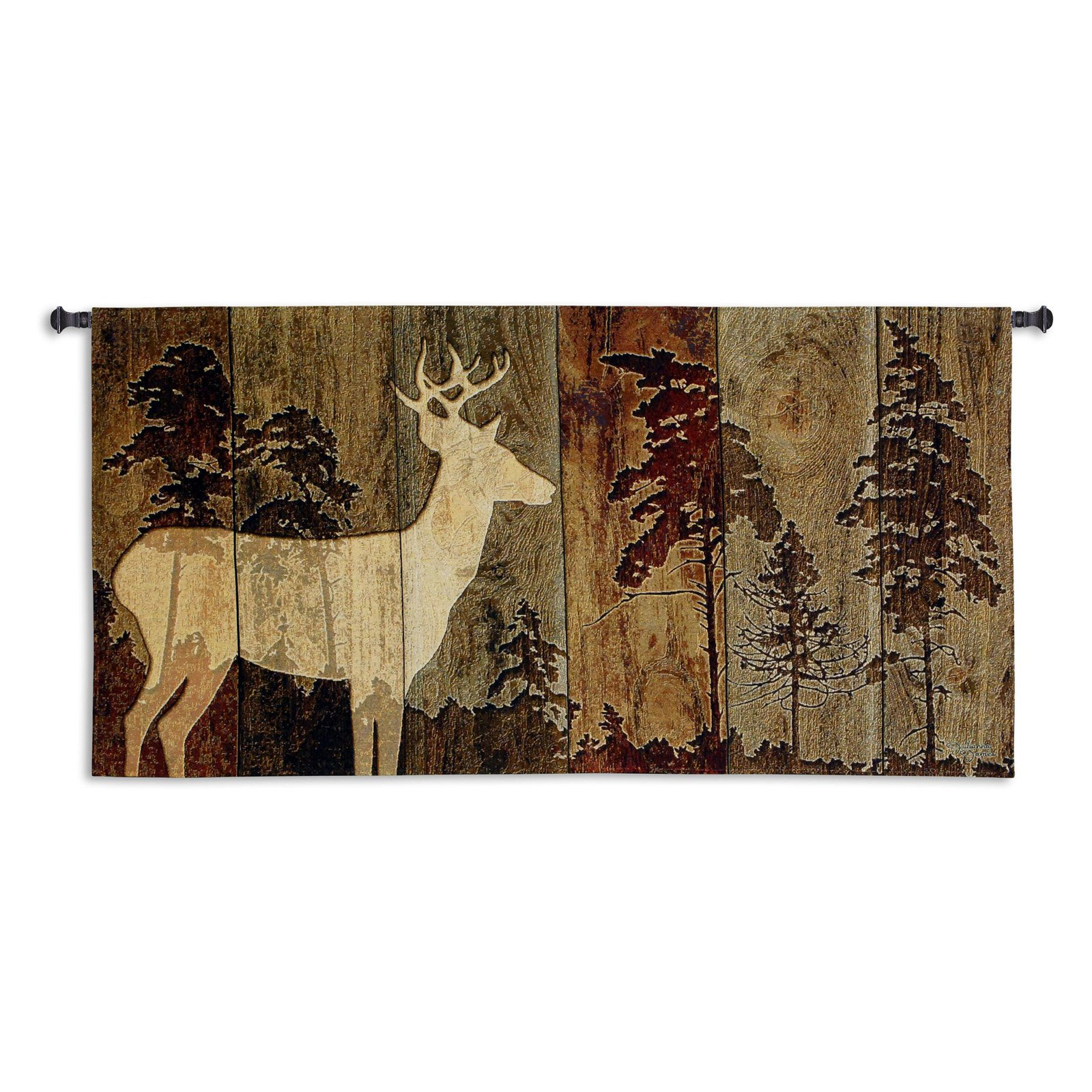 Fine Art Tapestries Woodburn Lodge Wall Tapestry by Supplier Generic