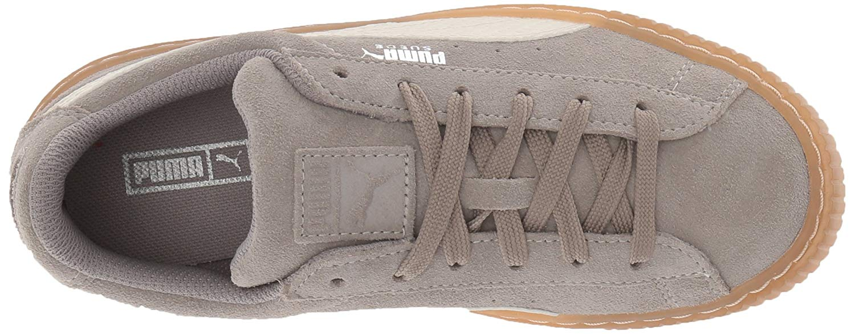 Kids Puma Girls Suede Platform Snk Ps Low Top Lace Up Running Sneaker -  Walmart.com 288f0a8e2