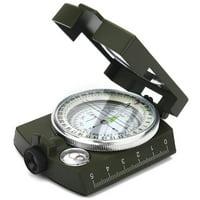 LYUMO 2Colors Outdoor Military Sighting Luminous Lensatic Waterproof Compass ,Compass, Outdoor Compass