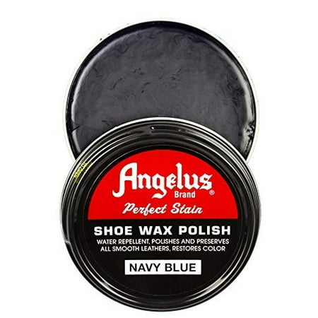Angelus Shoe Wax Polish 3fl Oz (Color Variety) (Navy