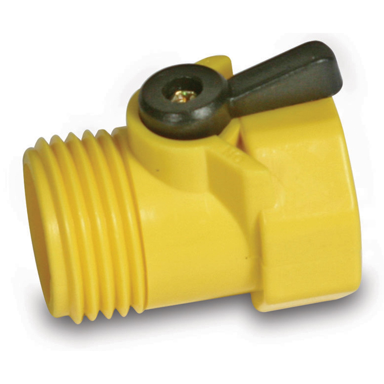 Camco 20003 Straight Garden Hose Valve, Plastic