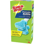 Scotch-Brite Toilet Cleaning System Disposable Refills, 10 count