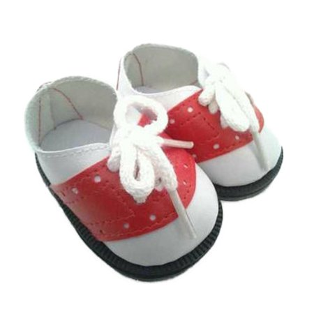 My Brittany's Red And White Saddle Shoes For American Girl Dolls (American Girl Doll Saddle)
