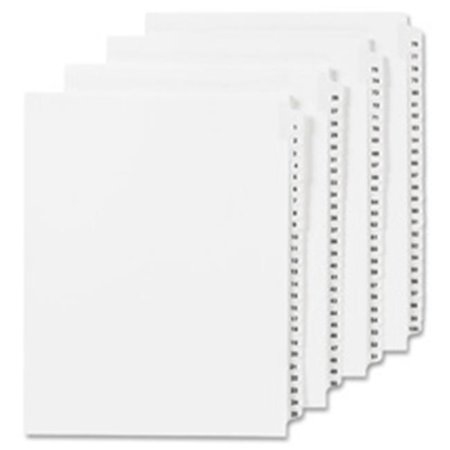 31 X Tab - Legal Index, Side Tab 31, 8.5 in. x 11 in., 25-PK, .55 Cut