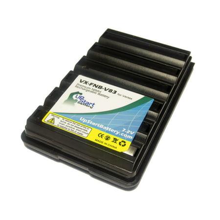 Compatible Vertex Fnb 83H Battery   Compatible For Vertex Fnb 83 Two Way Radio Battery  1600Mah  7 2V  Ni Mh