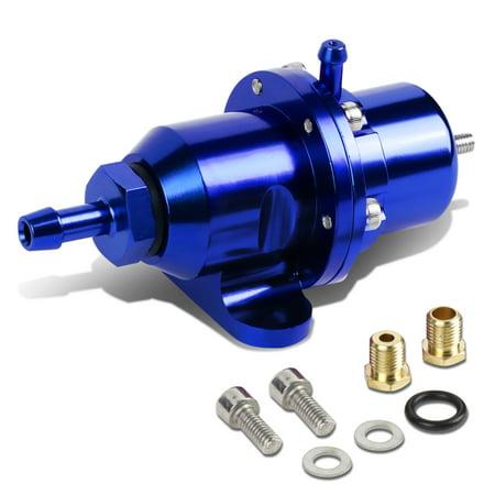 for 88-01 honda/acura dohc engine adjustable fuel pressure regulator (blue) - b16 b18 b20 f20 f22 h23 95 96 97 98 99 00
